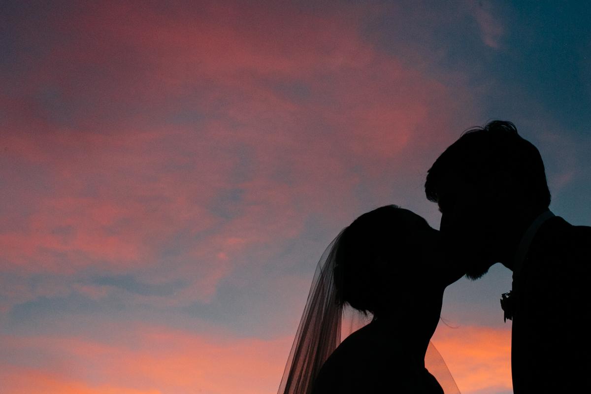 Las Vegas Wedding Sunset