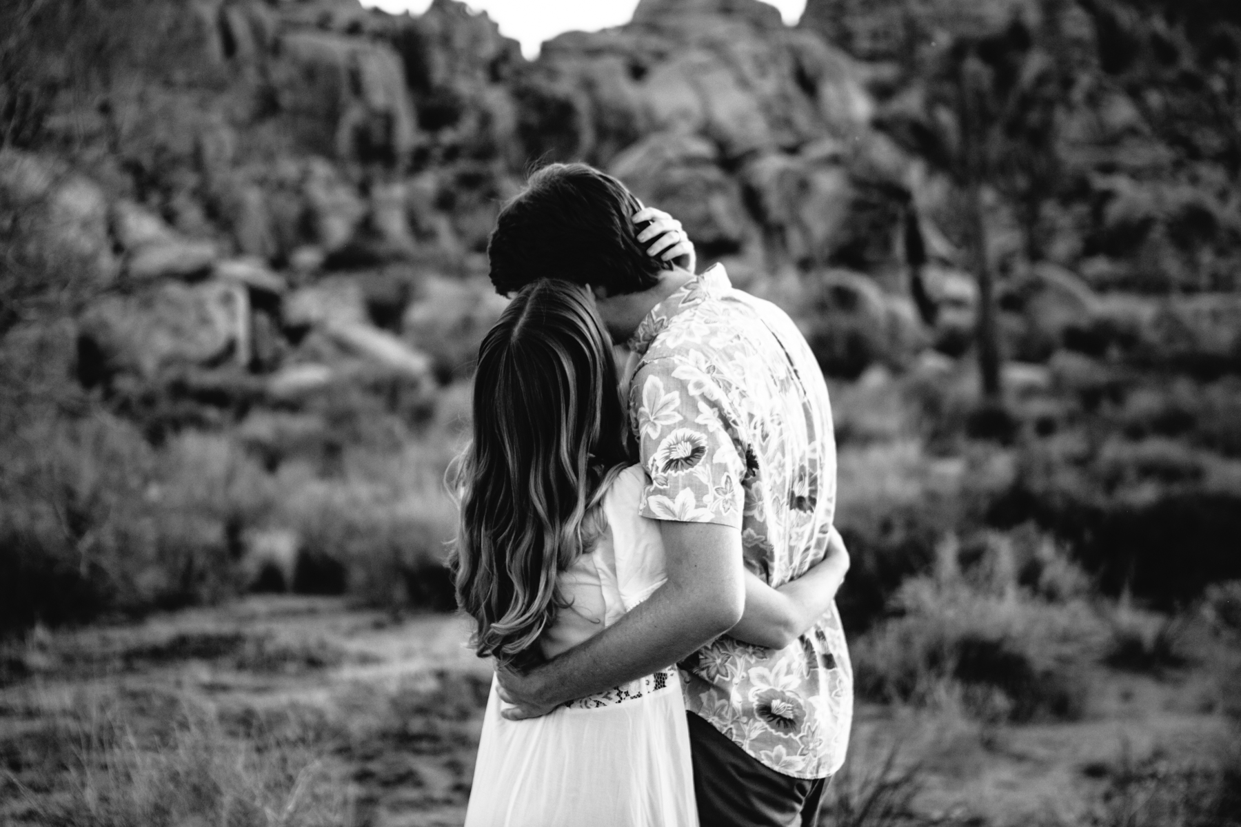 Lover's Embrace Joshua Tree, CA