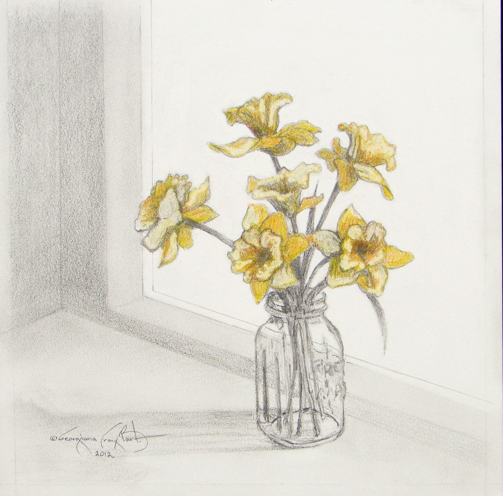 Daffodils in Mason Jar JPG.JPG
