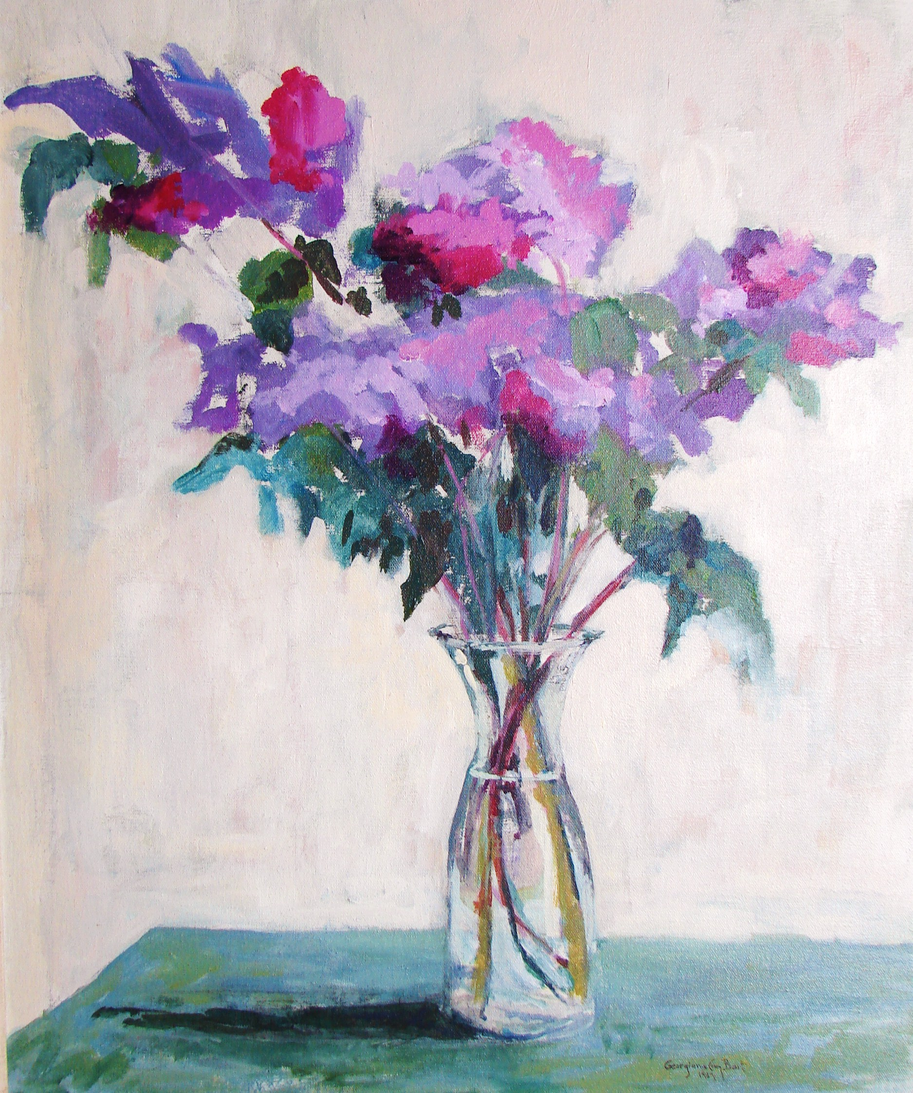 Lilacs  acrylic.JPG