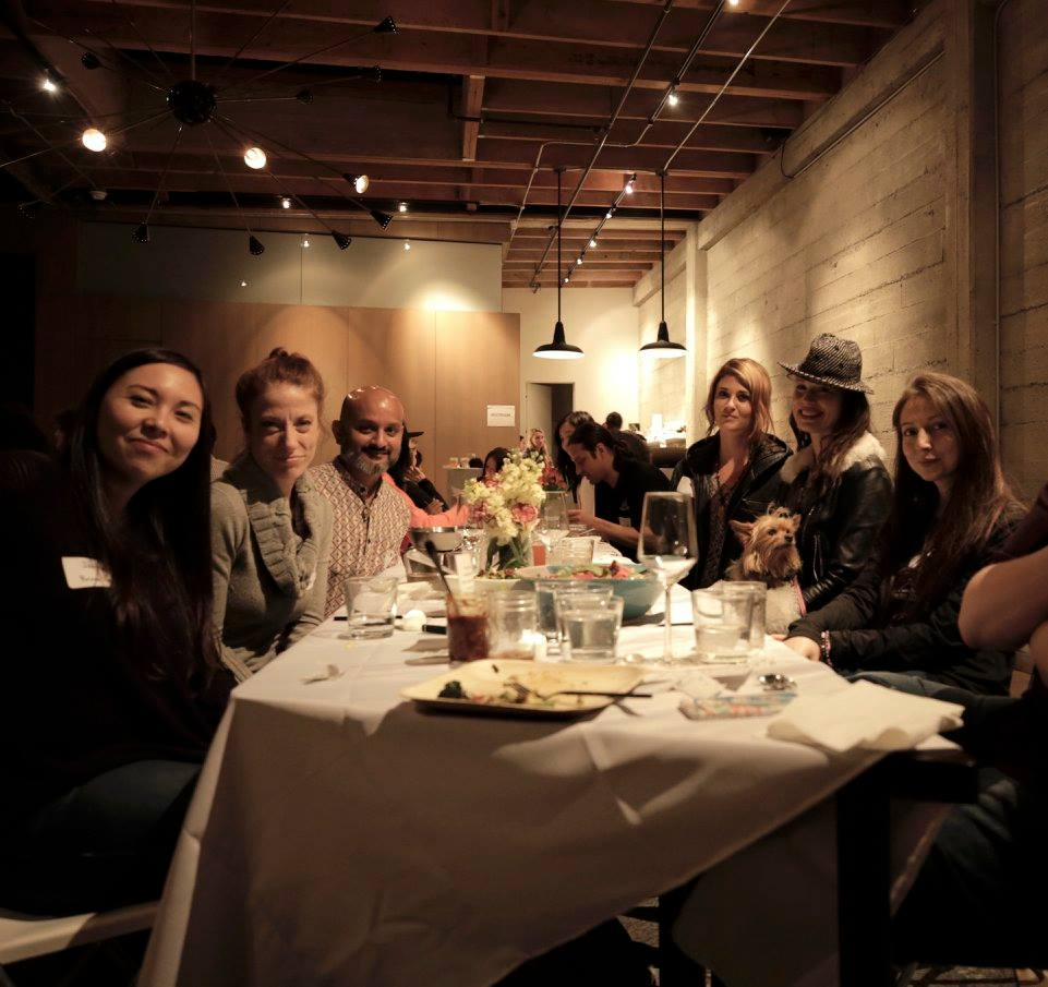 Being Together: Food, Friends Cannabis & Meaningful Conversations