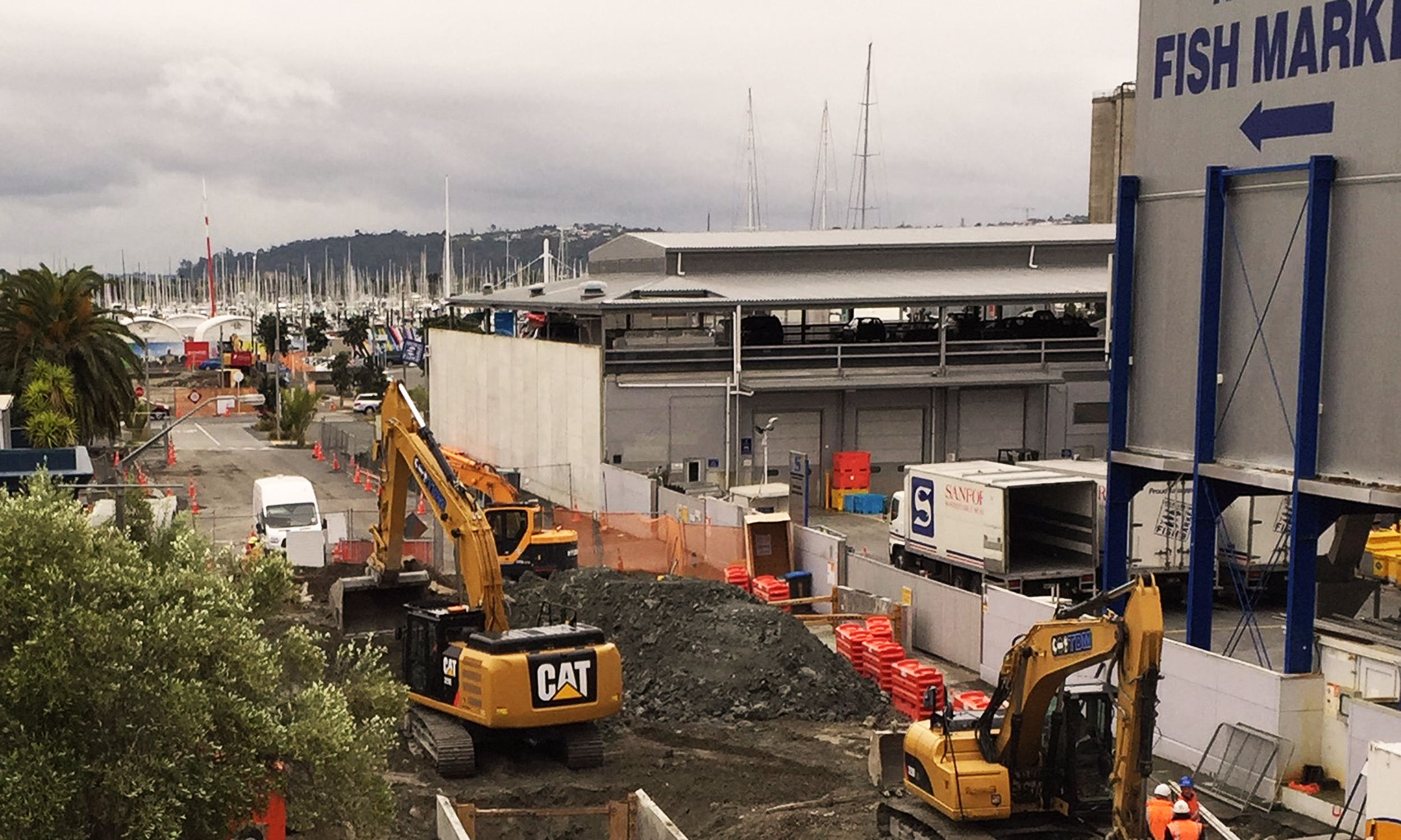 Wynyard Quarter Drainage Project