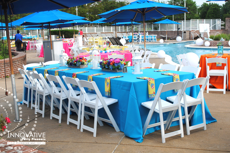 Corporate Pool Party -