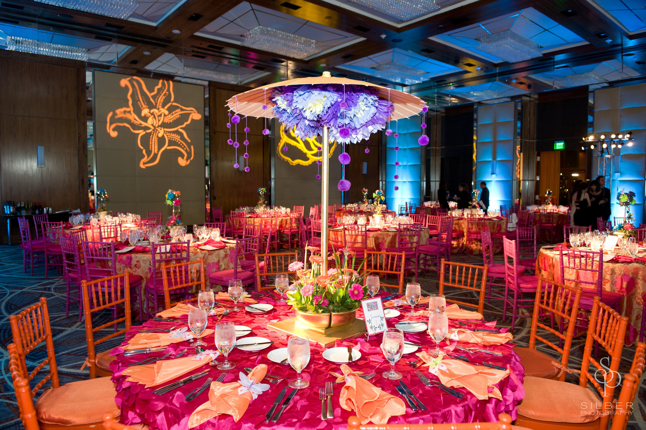 Four Seasons Baltimore Garden Theme - Bat Mitzvah Celebration