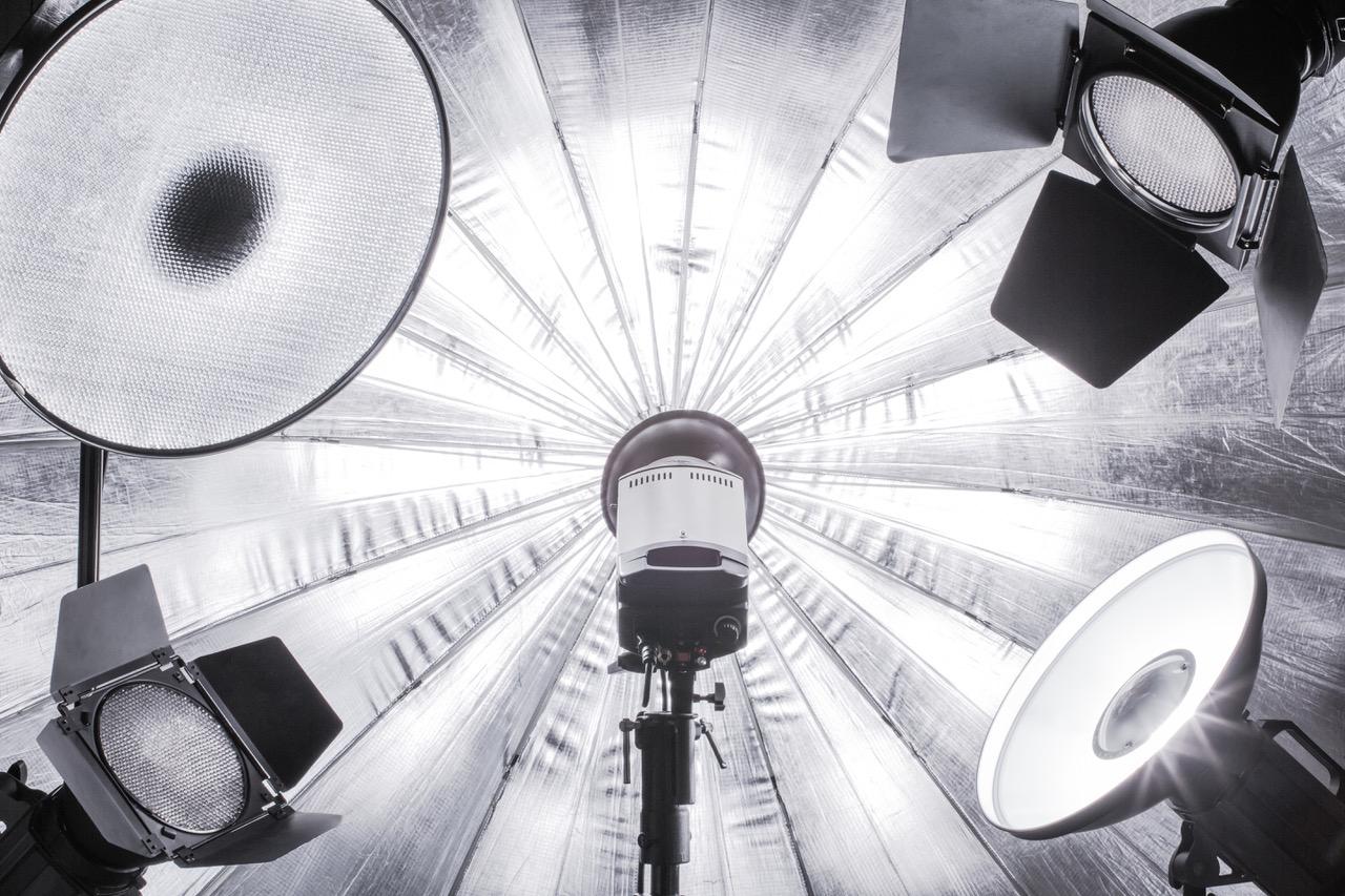 photographer lighting