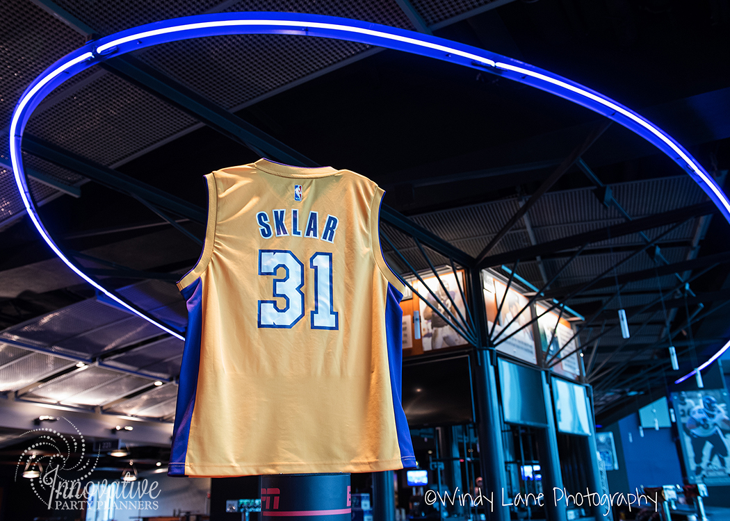 Sports Theme Bar Mitzvah Party at M&T Bank Stadium