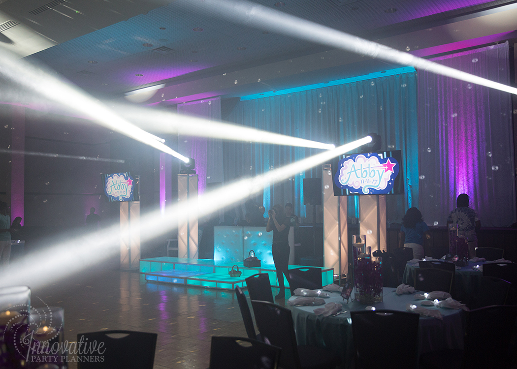 Abby's Starry Night | Dance Floor and Lighting by Innovative Party Planners