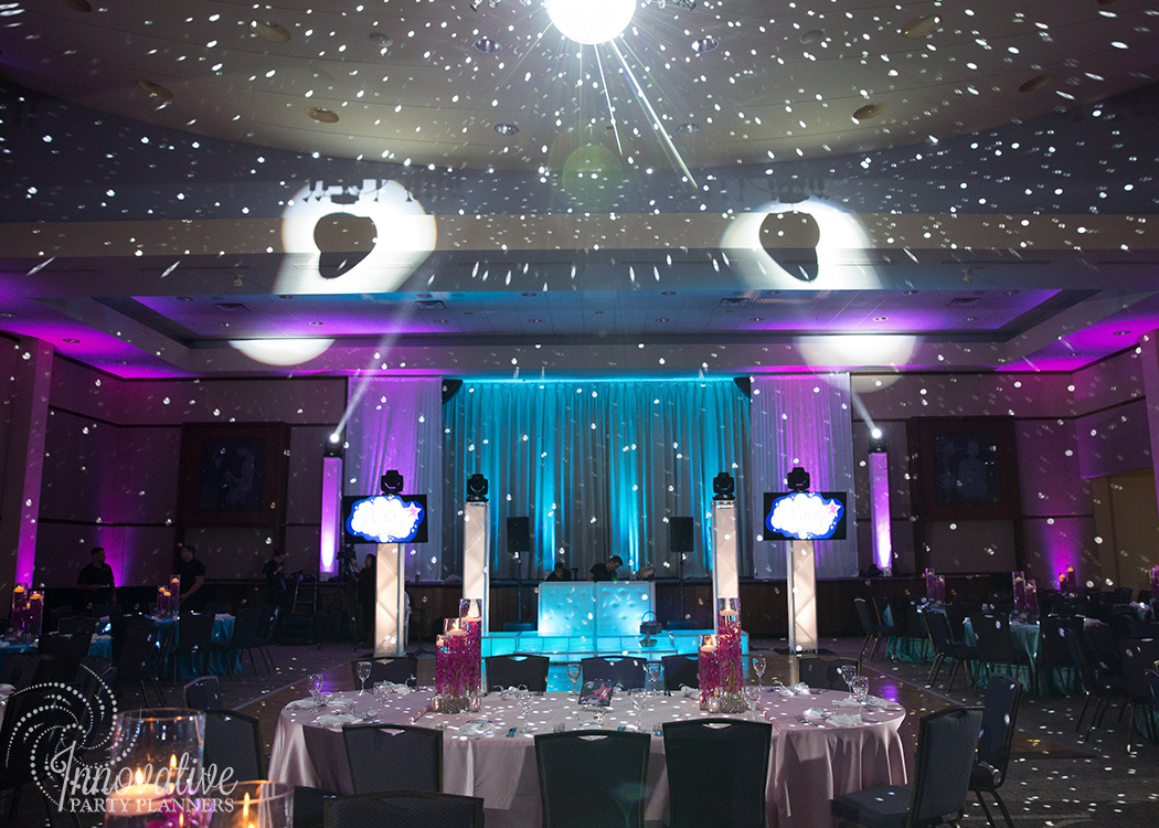 "Abby's Starry Night | ""Make A Wish"" Dance Floor by Innovative Party Planners"
