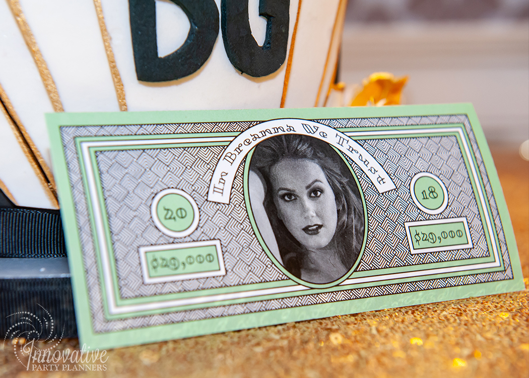 Fairwell to the Roaring Twenties | Casino Funny Money designed by Innovative Party Planners