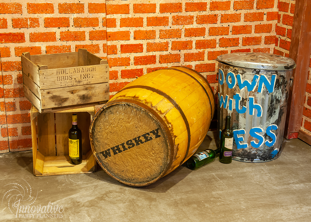 Fairwell to the Roaring Twenties | Speakeasy Props by Innovative Party Planners