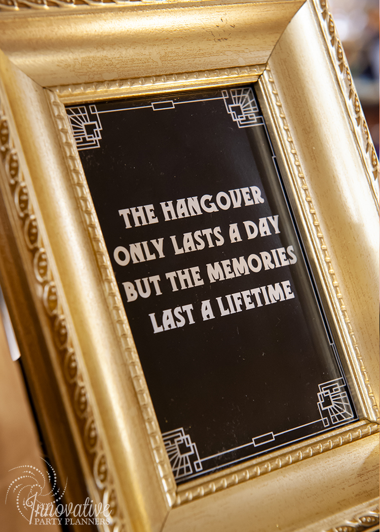 Fairwell to the Roaring Twenties | 1920's Sayings and Quotes Party by Innovative Party Planners