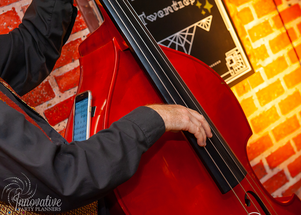 FairTwenties | Jazz Musician Cello player |  Producted by Innovative Party Planners