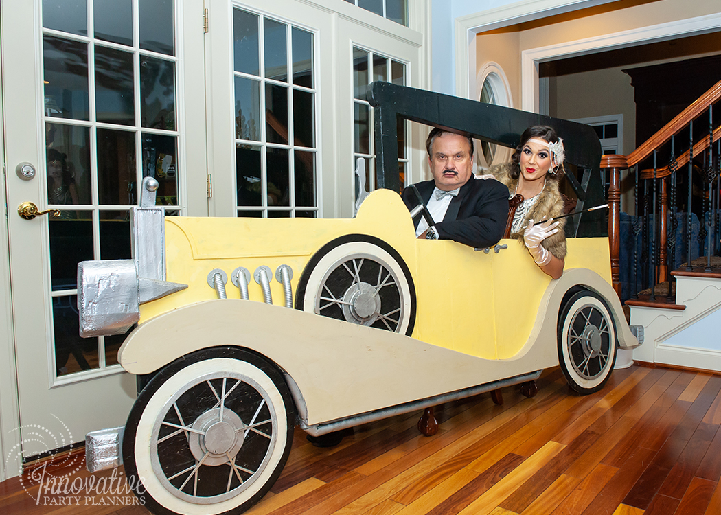 Fairwell to the Roaring Twenties | Vintage Roadster Car Photo Set by Innovative Party Planners