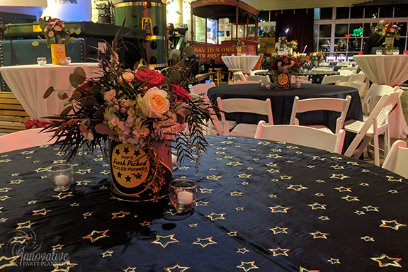 Guest Table Centerpieces 1_1940s Themed Decor_InnovativePartyPlanners2018.jpg