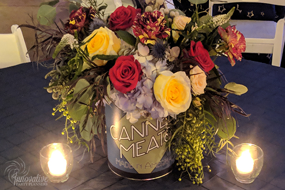Guest Table Centerpieces 2_1940s Themed Decor_InnovativePartyPlanners2018.jpg