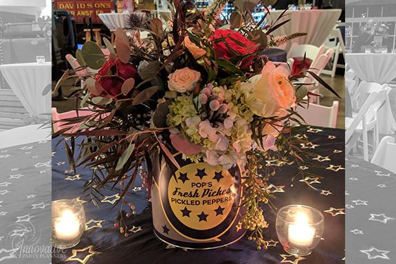 Guest Table Centerpieces 3_1940s Themed Decor_InnovativePartyPlanners2018.jpg
