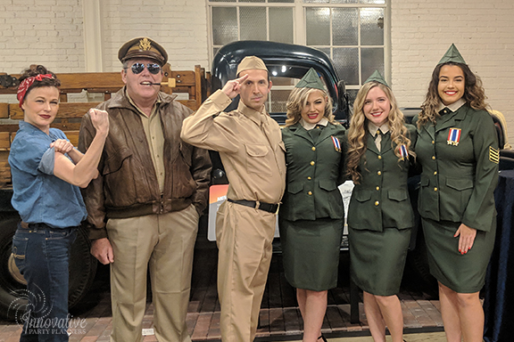 Booz Allen Hamilton 1940's Holiday Party -
