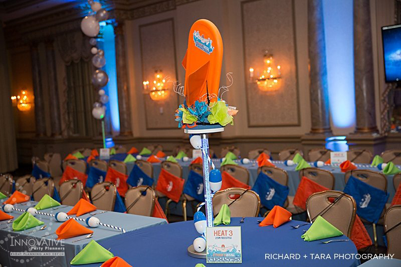 Swimming Theme at Martin's Valley Mansion - Bar Mitzvah Celebration