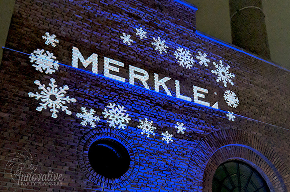 Projecting your logo outside your event will not only show your guests where to head; it will also promote your brand to the entire city.