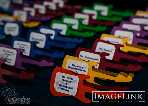 Aydins Bar Mitzvah_Music Theme_Innovative Party Planners_04_Guitar Place Cards.jpg