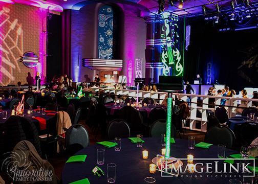 Aydins Bar Mitzvah_Music Theme_Innovative Party Planners_08_LED Tall Guitar Centerpiece_Green.jpg