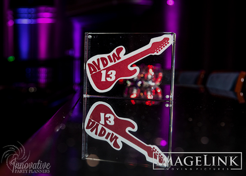 Aydins Bar Mitzvah_Music Theme_Innovative Party Planners_10_Acrylic table name frameless.jpg