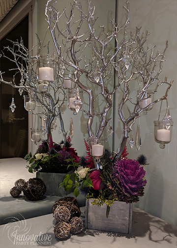 Manzanita_Centerpiece with reusable crystals and votive holders.jpg