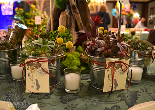 Succulant Centerpieces and Party Favors by Innovative Party Planners.jpg