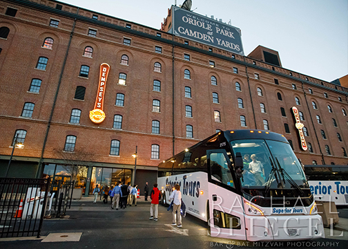 Bar Mitzvah Camden Yards_2-16-19_Arrival_Superior Tour Bus.jpg