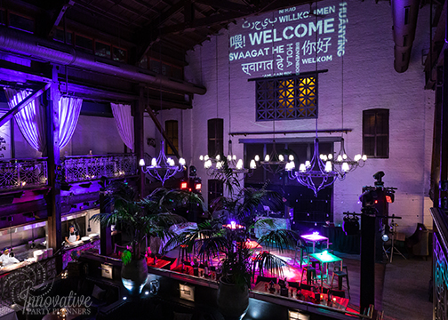 Merkle Holiday 2018_Bar Vasquez_Travel Theme_Gobo - Welcome in many languages and Dance Floor.jpg