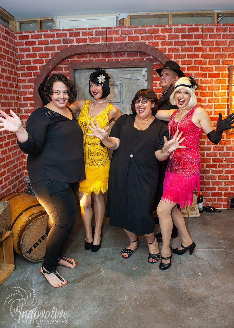 Actors with IPP Crew_Speakeasy Facade_Roaring Twenties Birthday Celebration_by Innovative Party Planners.jpg