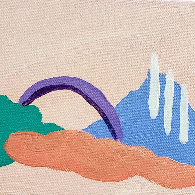 #workinprogress . . . #wip #artbankgallery #artist #painter #abstractart #abstractlandscape #layers #acryliconcanvas #indyartist #indianapolisartist #femaleartist #dothework