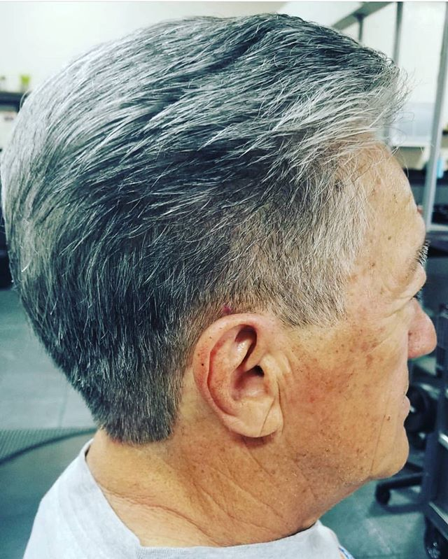 Sharp clean up for this handsome guy⚡️hair by Liz White