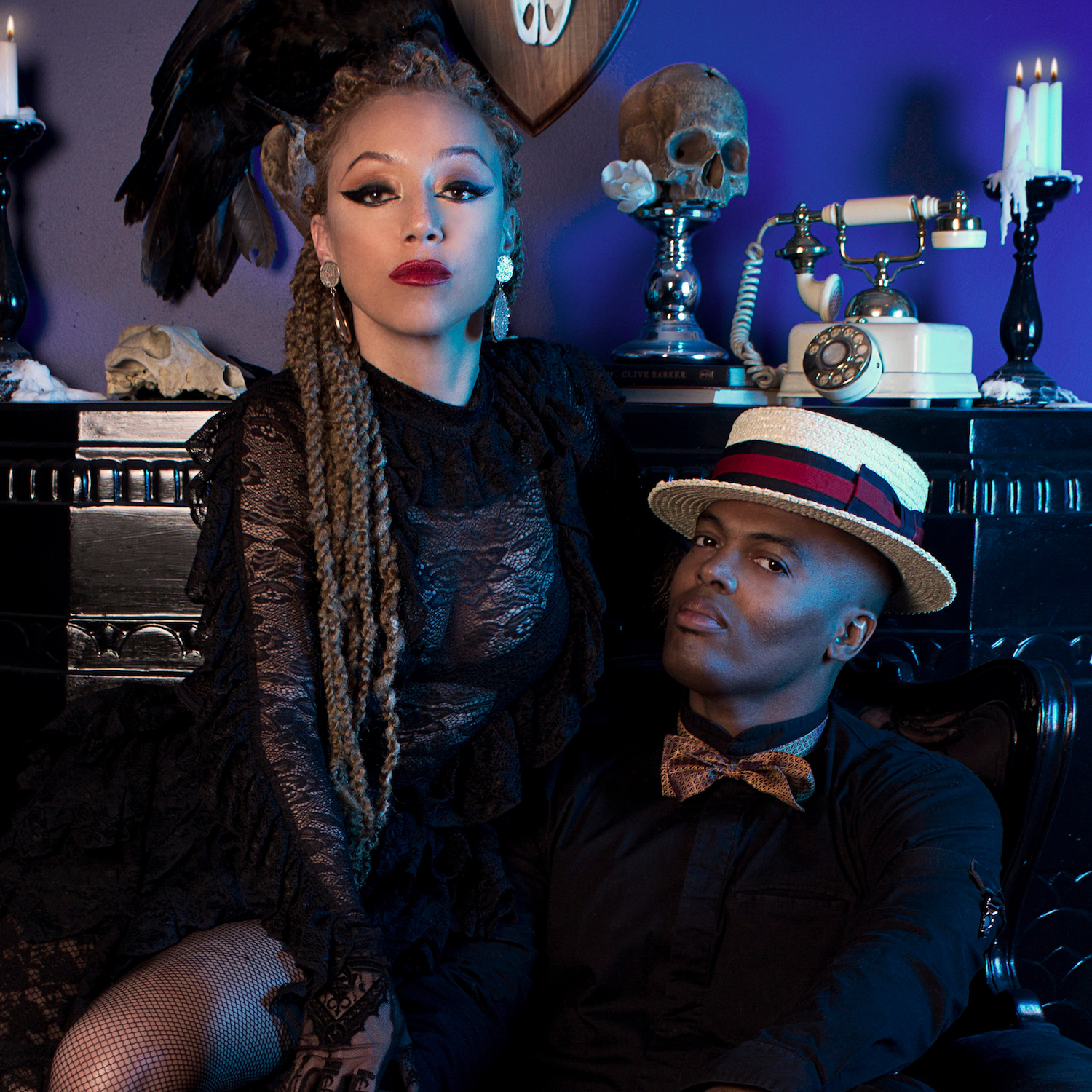 Dessy Di Lauro : Singer/songwriter  Ric'key Pageot : Producer/ Composer/ Arranger/ Keys/ Accordion