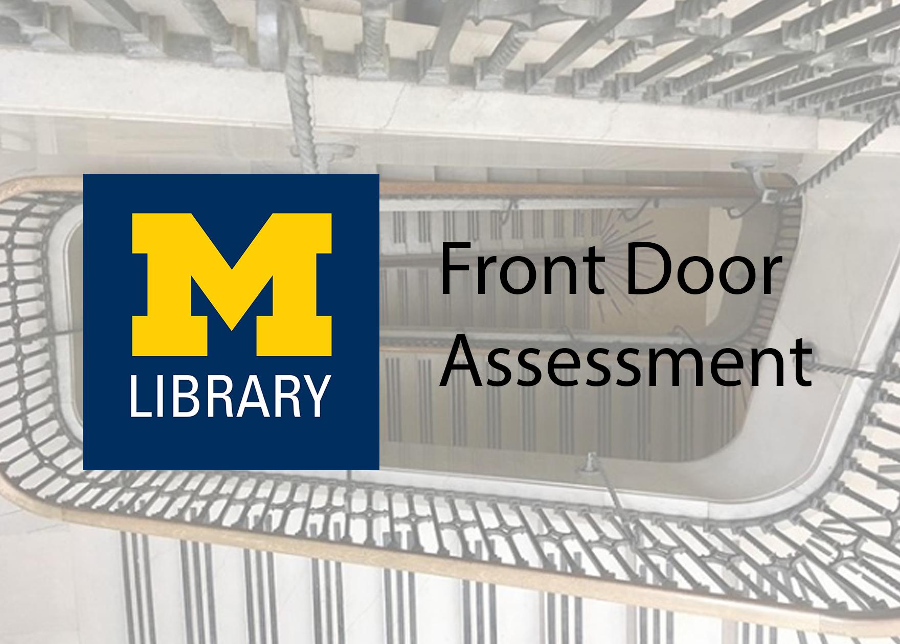 University of Michigan front door assessment