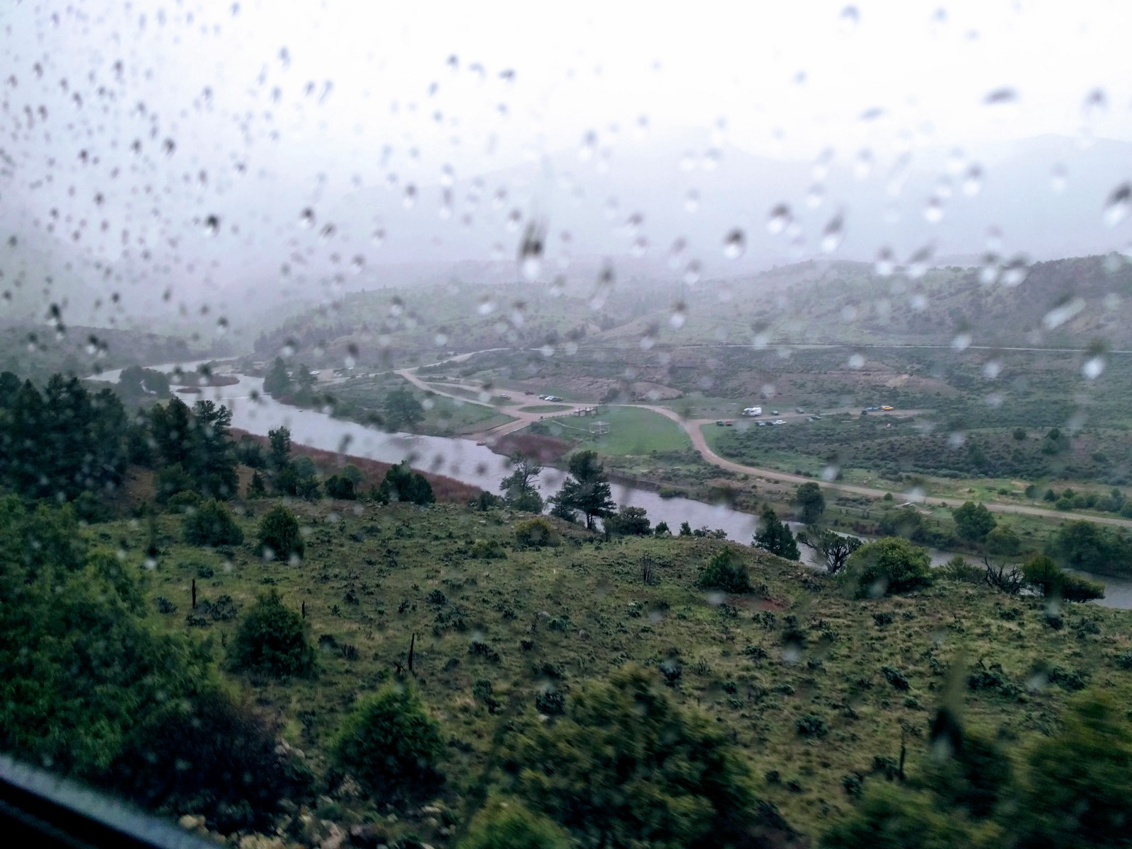 What did I say about trains and rains? — Kremmling, Colorado.