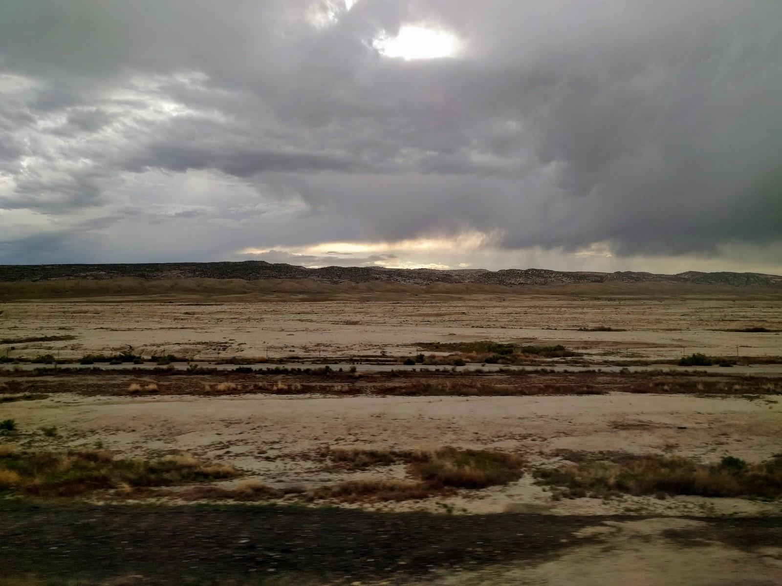 Nevada was a vast stretch of barren lands.