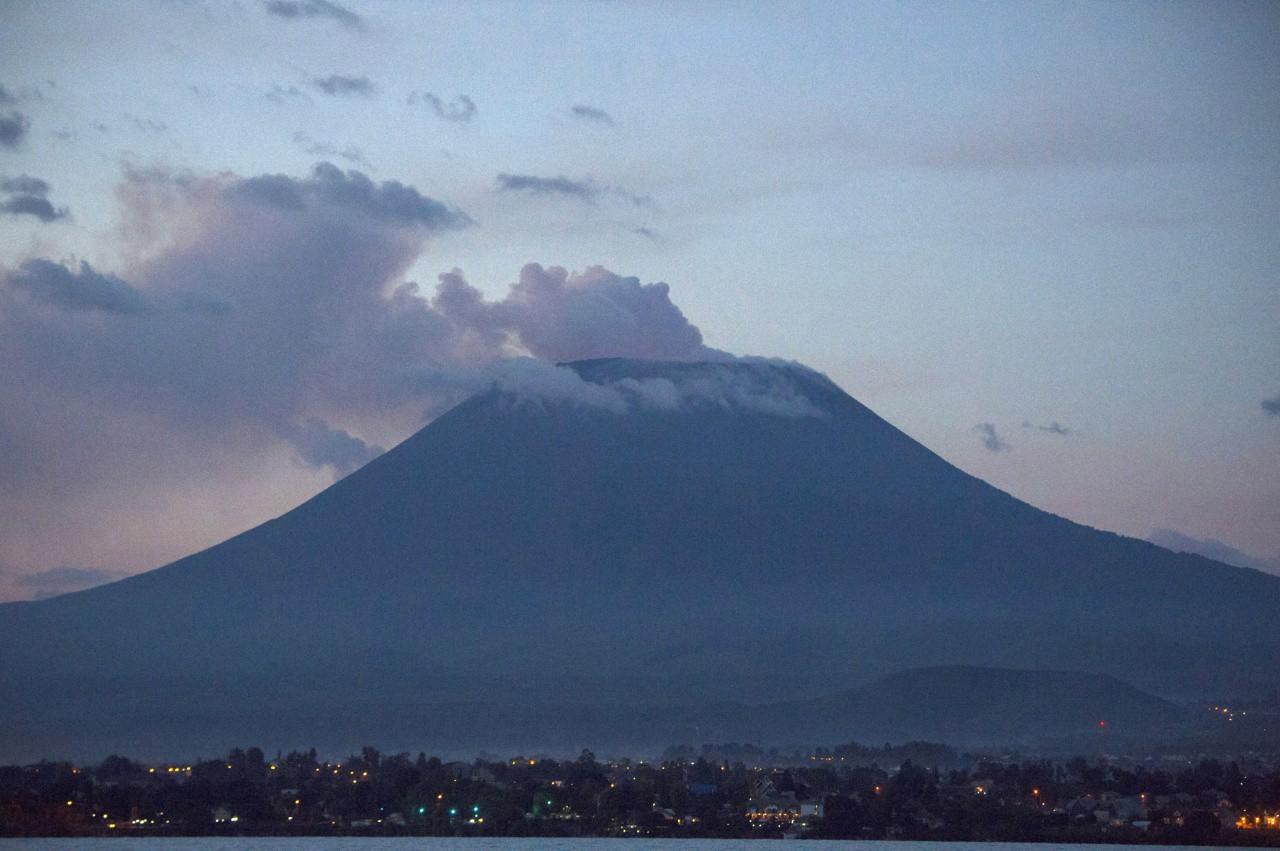 Mt.Nyiragongo: Getty Images