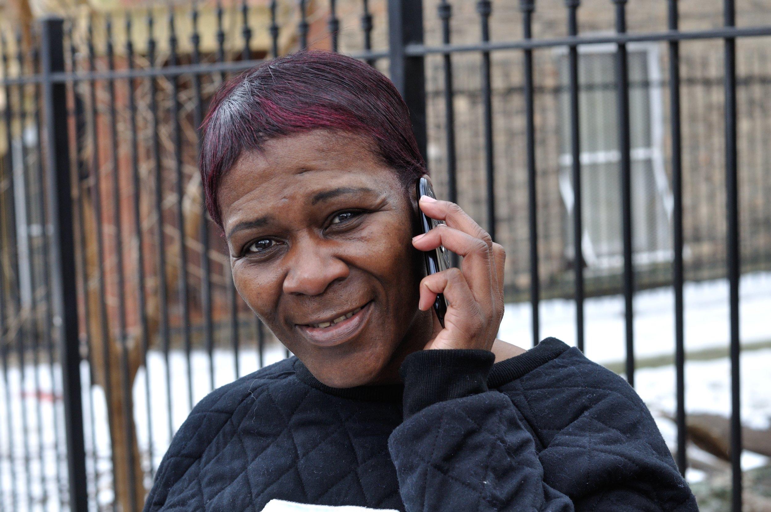 Karen Egerer  On The Phone