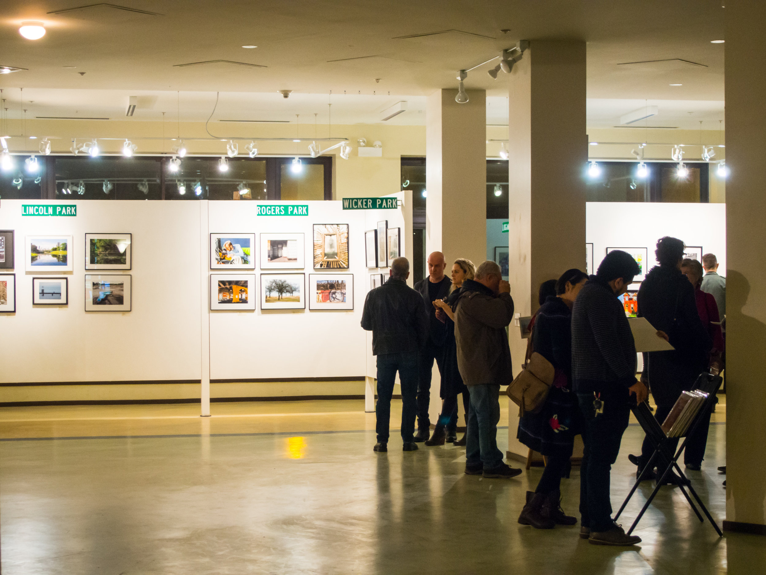 Opening Reception at Hairpin Arts Center