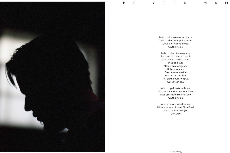 WHITE LIES  deluxe album photobook