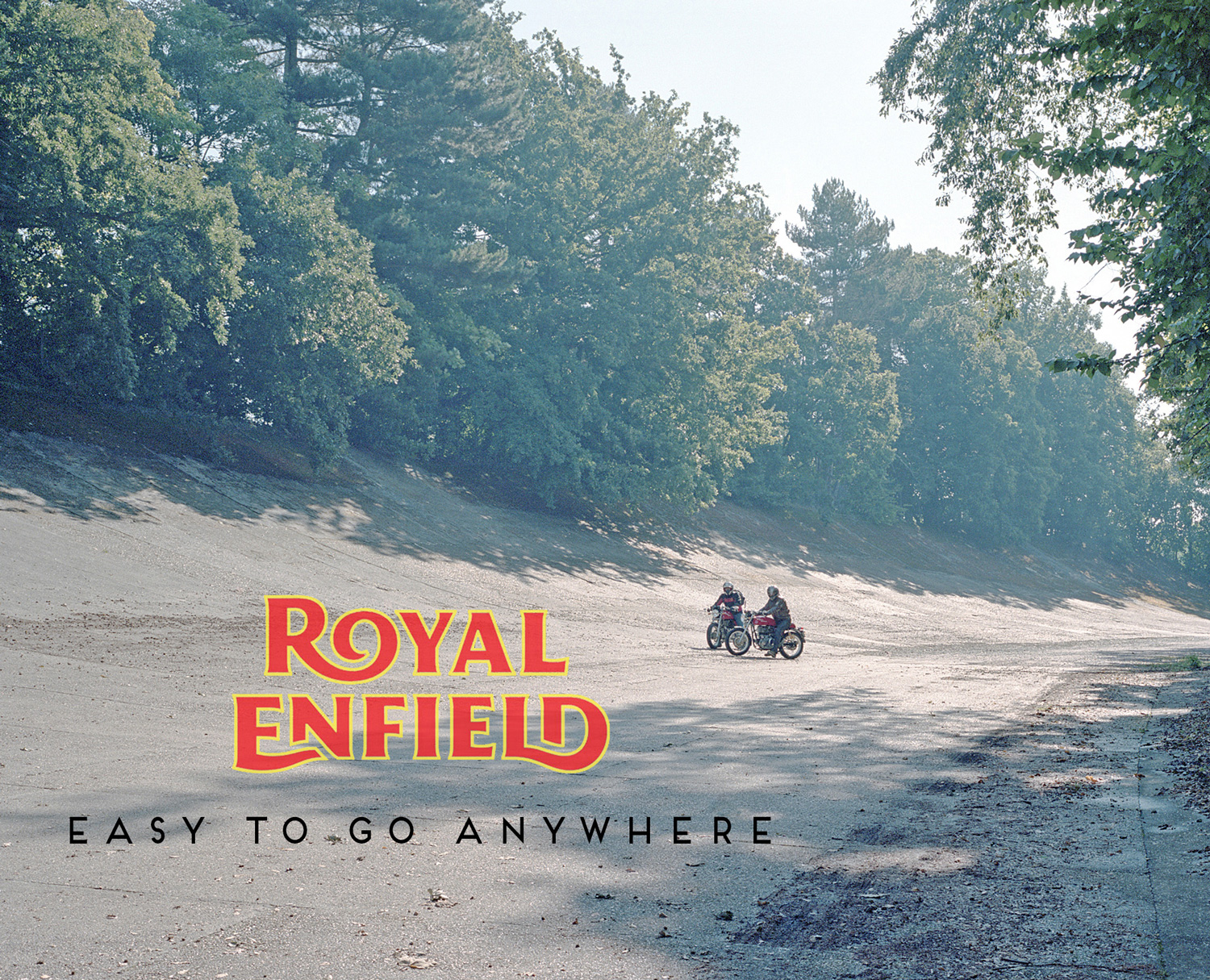 Campaign for Royal Enfield's Cafe Racer Shot in and around the old factory in Redditch, England