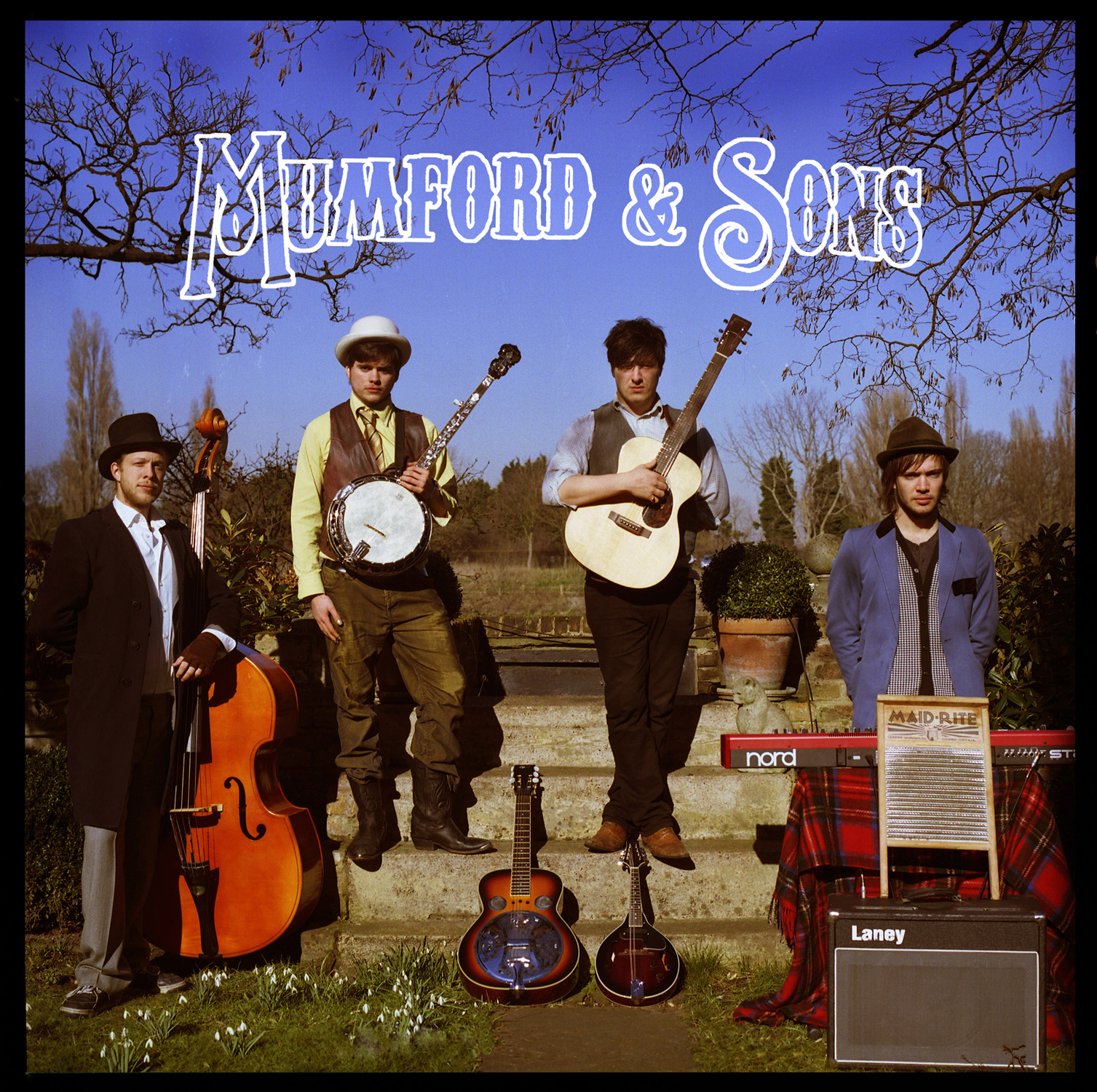 MUMFORD & SONS  Lend Me Your Eyes EP cover