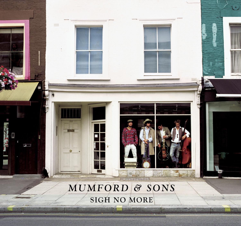 MUMFORD & SONS  Sigh No More album cover