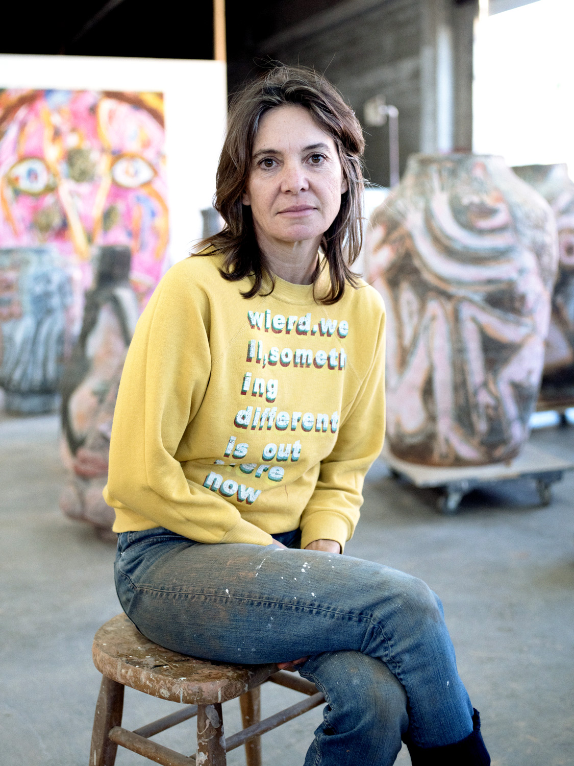 RUBY NERI  Sculptor + Painter for Elephant Magazine