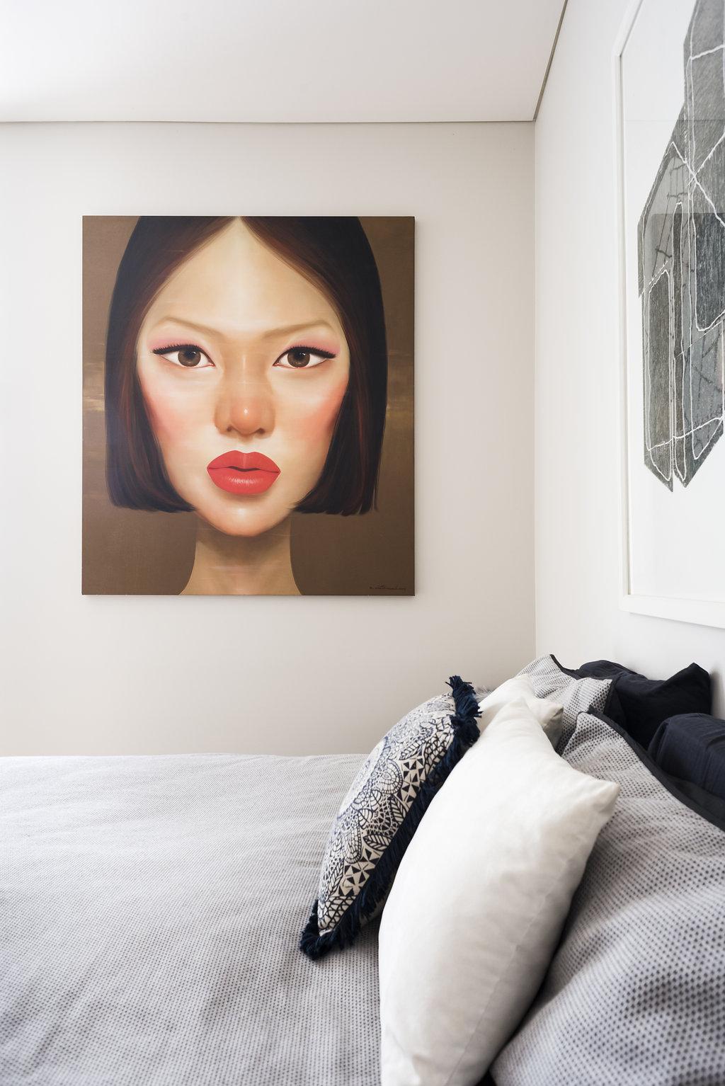 Master Bedroom artwork by Kowit Wattanarach