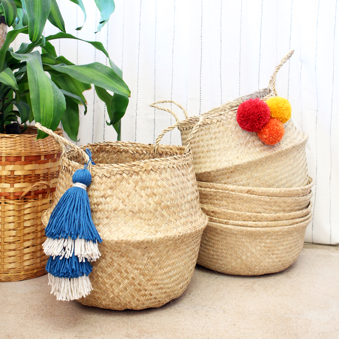 Make some flair for your own basket