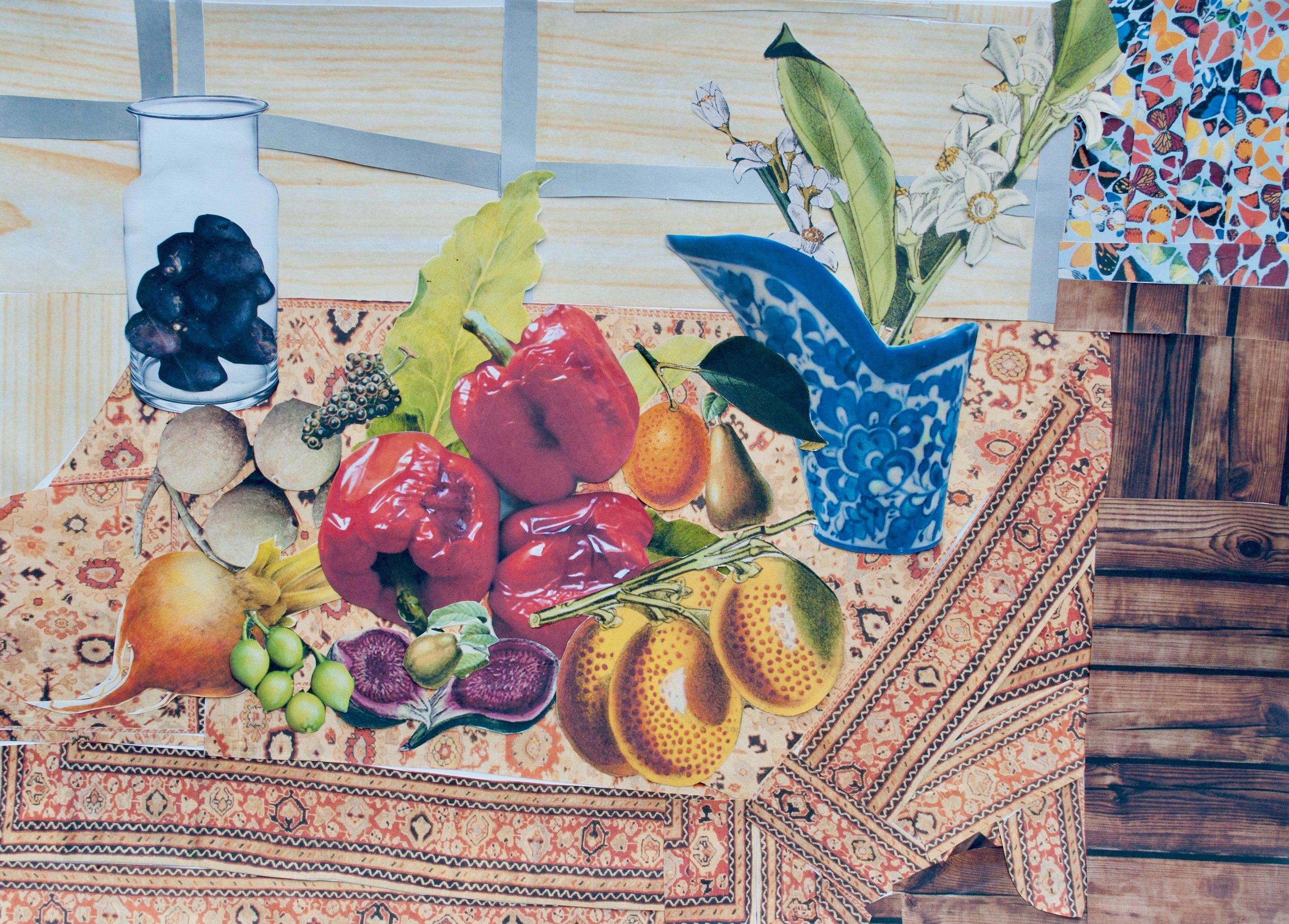 Khanh - Still Life after Henri Matisse's Still Life (Pineapples, Lemons).jpg