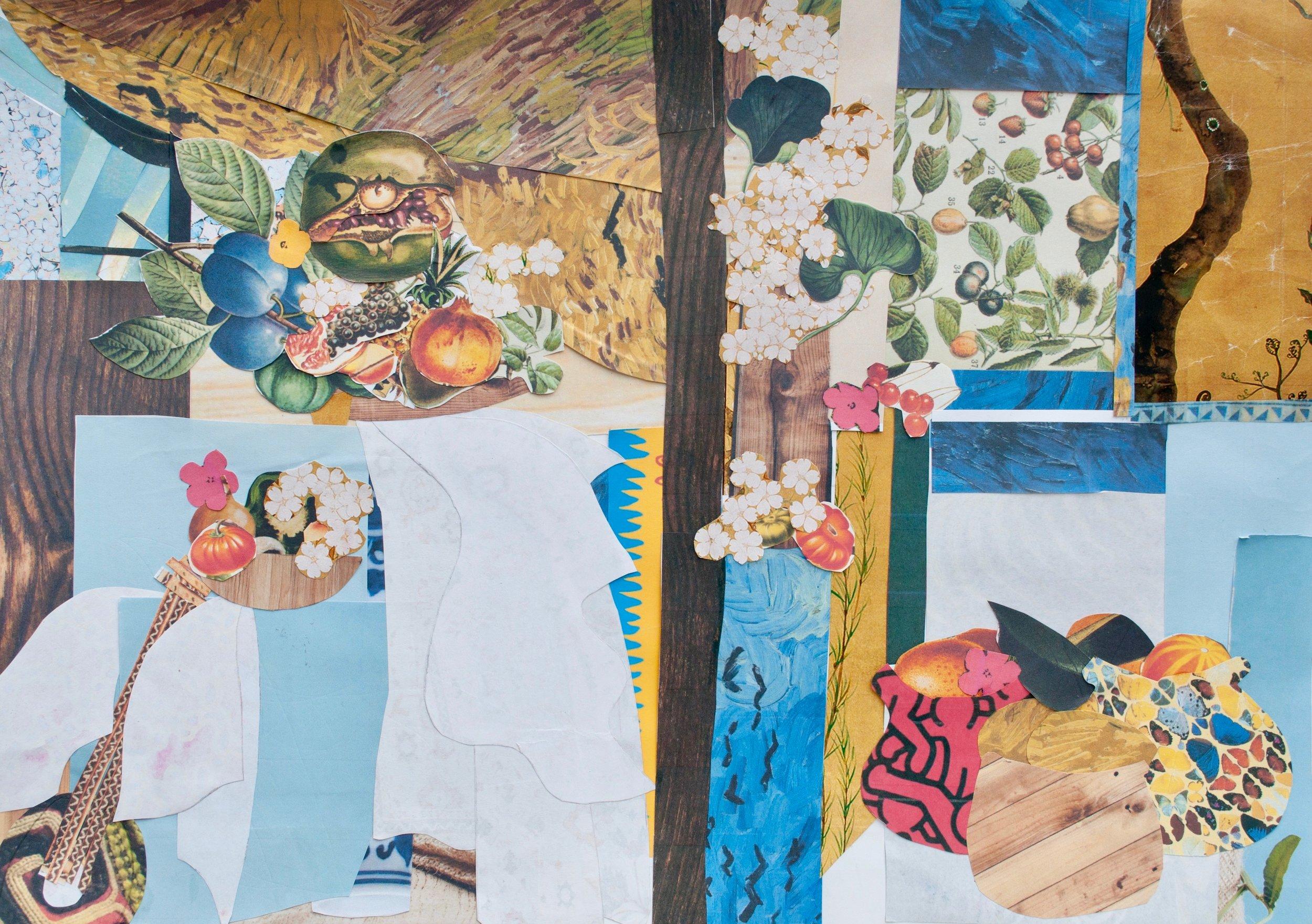 Nhan - Still Life after Henri Matisse's Still Life after Jan Davidsz de Heem's La Desserte.jpg