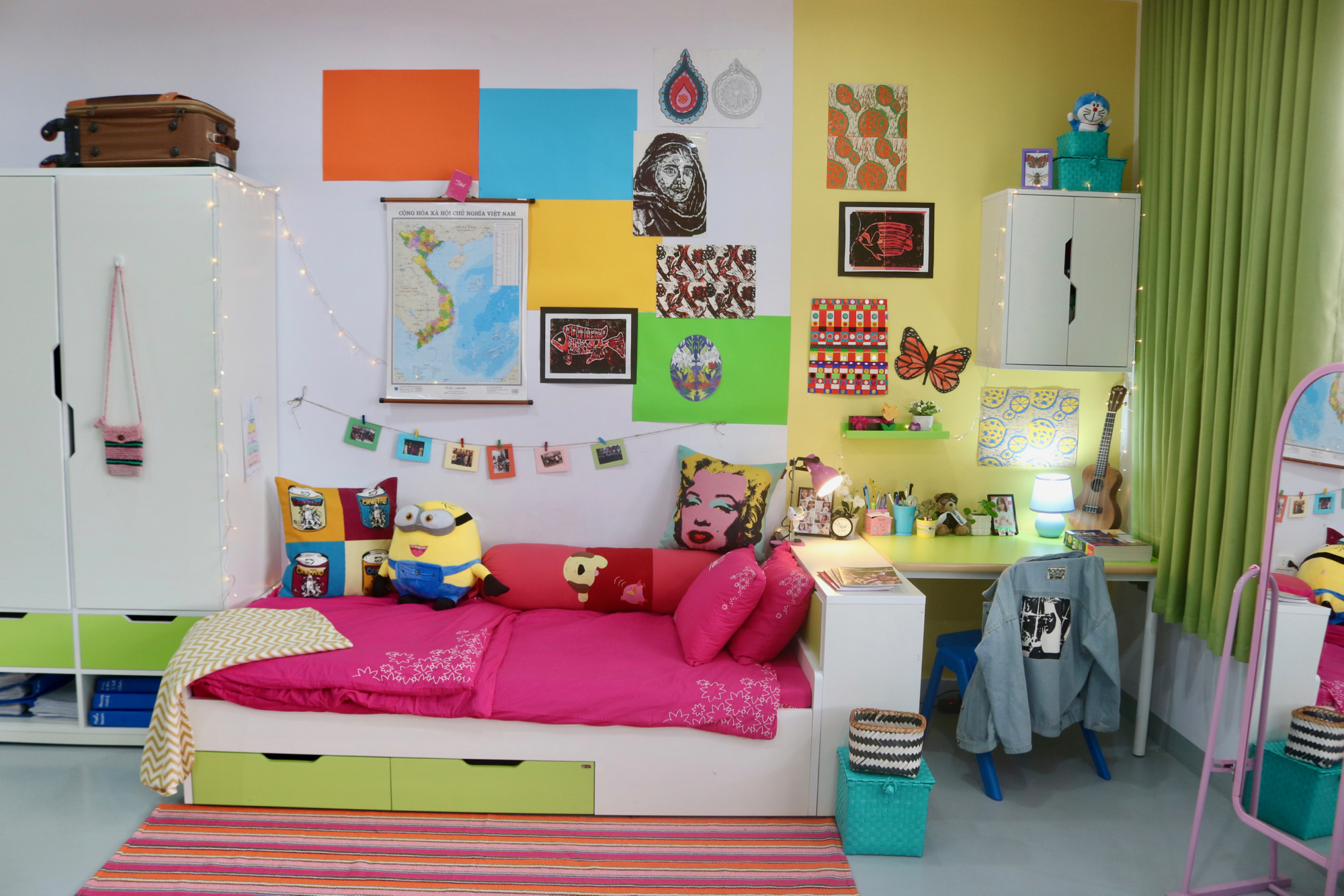 Girls dorm wardrobe bed desk.jpg